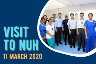 Ministerial Visit to NUH